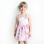 Pink Fairy Forest Overall Dress