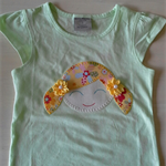 Applique T shirt