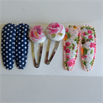 SALE - snap clips (3 sets of 2)