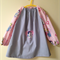 Stripes art smock 4-7