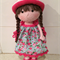 Crocheted dolly, super pretty, one of a kind.