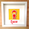 Ironman Inspired Personalised 3D Frame