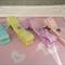Toddler Girl Quad clip set  ~ pastel dreams