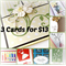 3 Cards* for $13