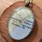 Sale & free postage!  Australia map resin necklace