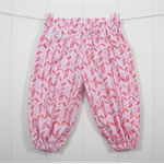 Organic pink harem pants – Size 00 – Ready to send – Baby girl
