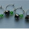 Jingle Bells Wine Charms (Green) set of 4