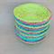 """BLUE, LIME & PINK"" Baskets. Set of 3. Home Décor. Home Storage. Fruit Bowl."