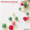 Christmas Feltball Garland - musk edition