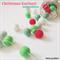 Christmas Feltball Garland - mint edition