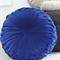 Unique 70cm wide Vintage Style Round FLOOR CUSHION - BLUE-Free Post*