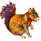 Squirrel - Giclée art print on HAHNEMUHLE photo rag paper