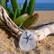 White Sea Glass Starfish Pendant