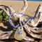 Yellow Sea Glass Starfish Bracelet