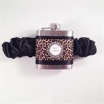 Personalised Flask Garter/Garter/Garter for Bride/Flask Garter