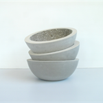 Lunar Concrete Key / Fruit Bowl Mid Size - Urban Decor