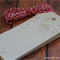 Embossed Christmas Gift Tags - White with Baker's Twine