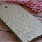 Embossed Christmas Gift Tags - Kraft with Baker's Twine