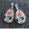 Liana~Teardrop Lever Back Earrings