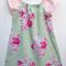 Girl's Green Roses Floral Dress - Girl, Toddler, Summer, Spring