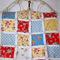 Bright and Colourful Patchwork Quilt