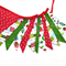 Christmas Red / Green - Flag Bunting Decoration. Stunning!