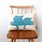 Possum cushion cover // Sugar glider front+back cushion // Organic cushion