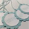 Mint Blue Deliciously Made for You Food Packaging Tags - Set of 6