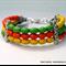 3 Strand Magnesite Tribal Bracelet – Citrus