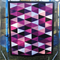 Modern Triangle Patchwork Quilt