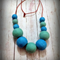 Big Bead Long Necklace
