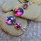 RESERVED LISTING FOR CARYS, NIGHT LIFE, SUBLIMATION EARRINGS