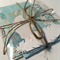 Aqua and White Scrapbooking, Project Life, Snailmail Papers & Embellishments