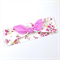 Turban Knot Bow Headband - Floral Print - Gingham Bow - Pink