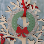 50% OFF SALE 3 Mini Wreath Fit for a Fairy's front door ~