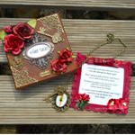 Fairy Light Door Hanger and Keepsake Box in Miniature