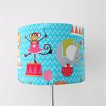 Circus lampshade and base