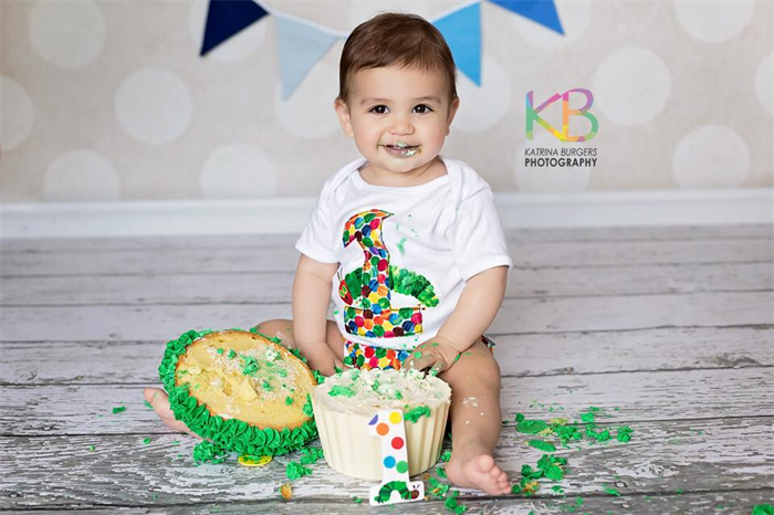 Excellent Very Hungry Caterpillar 1St Birthday Outfit Cake Smash Applique Personalised Birthday Cards Bromeletsinfo