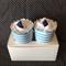 Singlet & sock cupcakes  Newborn boy