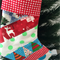 Christmas Stocking, Xmas Stocking, Patchwork Christmas