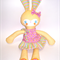 Cute Yellow Bunny with Removable Dress