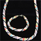 Bead Rope necklace set
