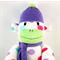 'April' the Sock Monkey - *ready to post*