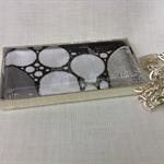 'Bubbles' Rectangle Pendant