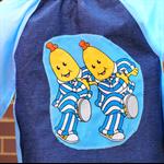 Toddler age 2-3 years, art smock - Bananas in Pyjamas