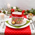 Personalised Christmas Basket Mini - 100mm sq