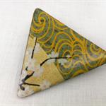 'Vintage Japanese Kimono' Brooch