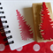 Christmas Tree - handmade hand carved rubber stamp