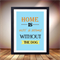 Puppy Poster, Home is with a dog, Gorgeous dog print, Dog Wall Art Love 8 x10
