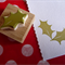Christmas Holly - handmade hand carved rubber stamp